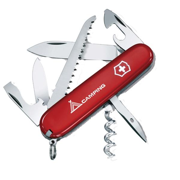 Victorinox Swiss Army(ビクトリノックス) キャンパーRD 64601十徳ナイフ マルチツール マルチツール ツールナイフ アウトドアギア
