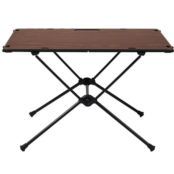 ★エントリーでポイント5倍!Helinox Home(ヘリノックス ホーム) HelinoxH テーブルワン ソリッドトップ WN 19750019ブラウン テーブル レジャーシート フォールディングテーブル アウトドアギア