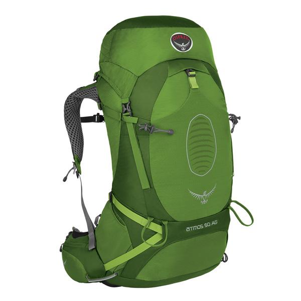 OSPREY(オスプレー) アトモスAG 50/アブサングリーン/M OS50191男女兼用 グリーン リュック バックパック バッグ トレッキングパック トレッキング50 アウトドアギア