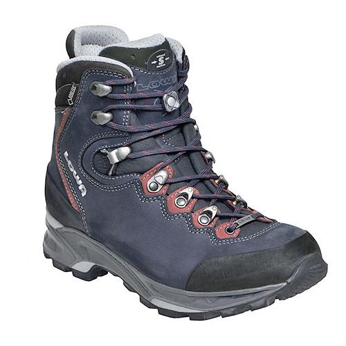 LOWA(ローバー) マウリア GT WOMEN SL/ダークブルー×バーガンディ/ L220646-6747-4アウトドアギア トレッキング用女性用 トレッキングシューズ トレッキング 靴 ブーツ