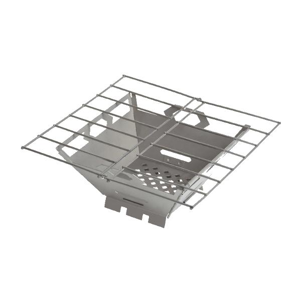vargo(バーゴ) バーゴ ステンレススチール ファイヤーボックスグリル T-436焼網 調理器具 製菓道具 バーベキューグリル バーベキューグリル アウトドアギア