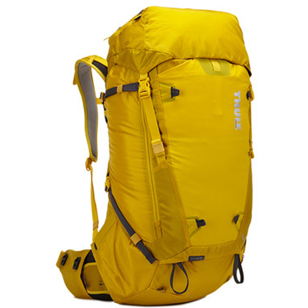 THULE(スーリー) Thule Versant 50L Mens Backpacking Pack Mikado/イエロー 211301男性用 イエロー リュック バックパック バッグ トレッキングパック トレッキング50 アウトドアギア