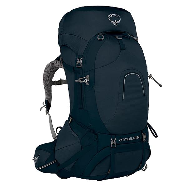 OSPREY(オスプレー) アトモスAG 65/ユニティブルー/L OS50181003006アウトドアギア トレッキング60 トレッキングパック バッグ バックパック リュック ブルー