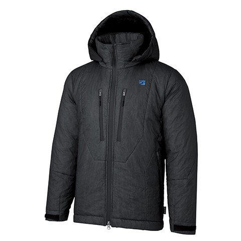 finetrack(ファイントラック) ポリゴンバリアフーディ/Unisex/BK/XS FLU0102男女兼用 ブラック アウター メンズウェア ウェア ジャケット 中綿入り ジャケット 中綿入り男性用 アウトドアウェア