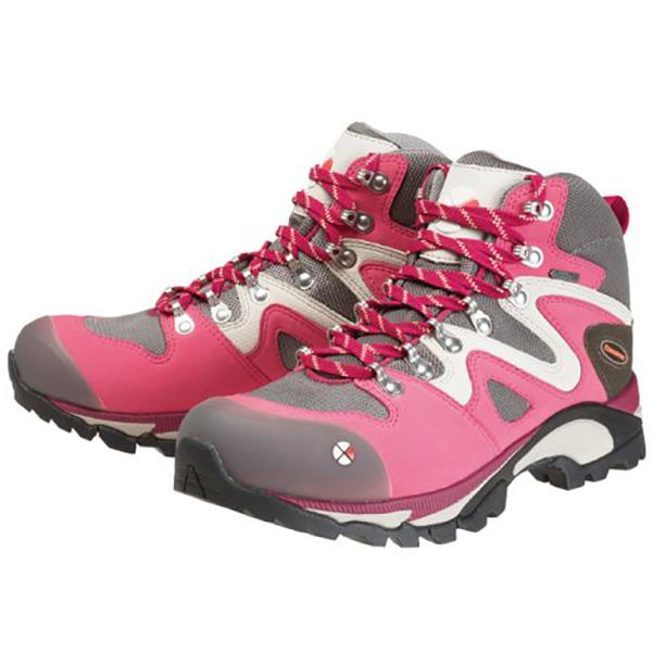 Caravan(キャラバン) キャラバンシューズC4_03/227ピンク/24.5cm 0010403女性用 ピンク ブーツ 靴 トレッキング トレッキングシューズ トレッキング用女性用 アウトドアギア