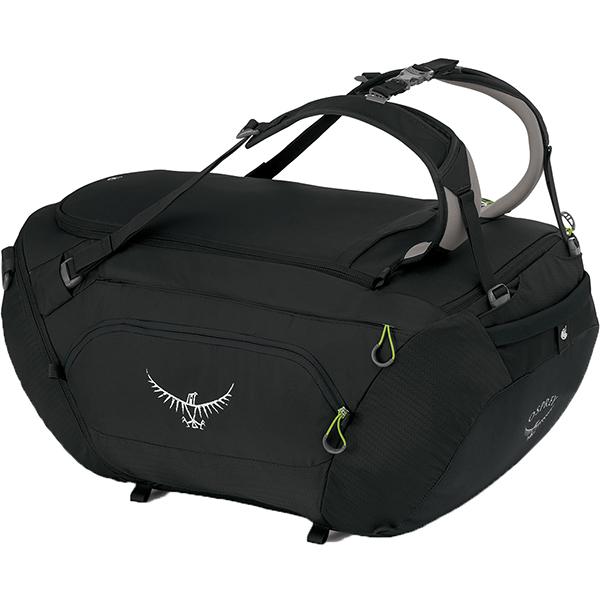 OSPREY(オスプレー) ビックキット 75/アンスラサイトブラック/ワンサイズ OS55191ブラック ダッフルバッグ ボストンバッグ トラベル・ビジネスバッグ ダッフル アウトドアギア