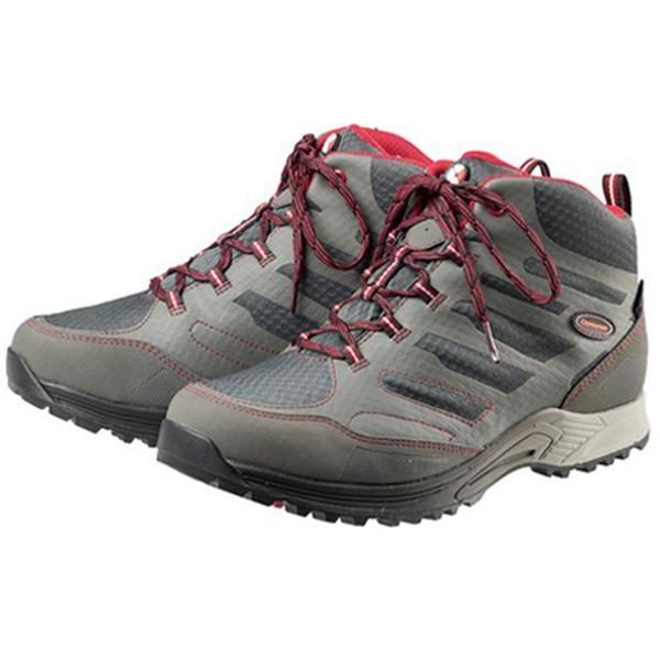 Caravan(キャラバン) キャラバンシューズC1_AC MID/100グレー/27.5cm 0010107男女兼用 グレー ブーツ 靴 トレッキング トレッキングシューズ トレッキング用 アウトドアギア