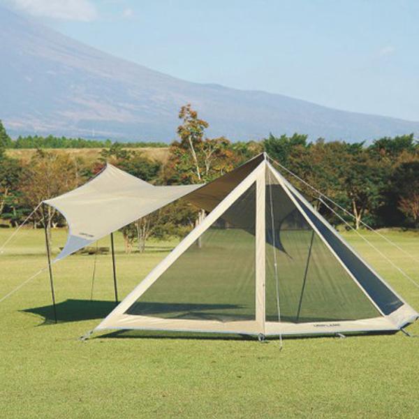 UNIFLAME(ユニフレーム) REVOフラップ 681374ベージュ テントアクセサリー タープ テント テントオプション アウトドアギア