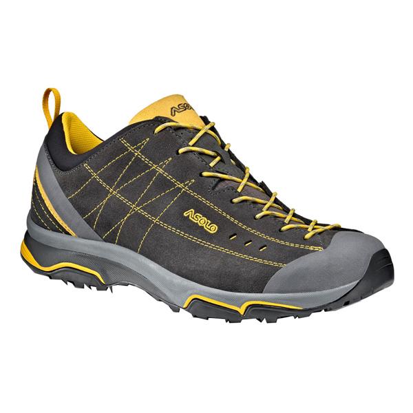 ASOLO(アゾロ) AS.ニュークリオン MS/GP/YL/K10.0 1829679アウトドアギア ハイキング用 トレッキングシューズ トレッキング 靴 ブーツ グレー 男性用