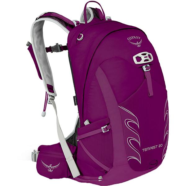 OSPREY(オスプレー) テンペスト 20/ミスティックマジェンタ/S/M OS50263女性用 パープル リュック バックパック バッグ トレッキングパック トレッキング20 アウトドアギア