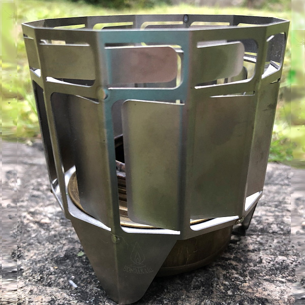 TWIN-TURBO(ツインターボ) TWIN-TURBO チタン製アルコールバーナー用燃焼促進器 TT-TITNクッキング用品 バーべキュー アウトドア アクセサリー アウトドアギア