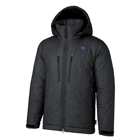 finetrack(ファイントラック) ポリゴンバリアフーディ/Unisex/BK/M FLU0102男女兼用 ブラック アウター メンズウェア ウェア ジャケット 中綿入り ジャケット 中綿入り男性用 アウトドアウェア
