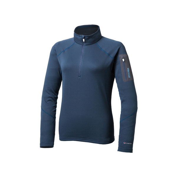 Marmot(マーモット) WS CLIMB FLEX AIRSTO/(INK)/S MJF-F5573W女性用 ブルー ブラウス シャツ トップス 長袖シャツ 長袖シャツ女性用 アウトドアウェア
