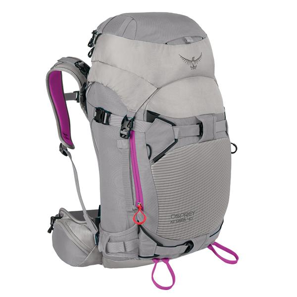 OSPREY(オスプレー) クレスタ 40/トワイライトグレー/S/M OS52104女性用 グレー リュック バックパック バッグ トレッキングパック トレッキング40 アウトドアギア