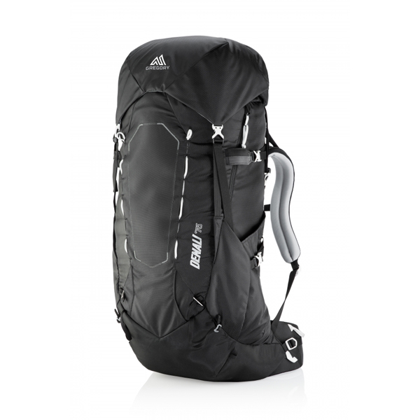 GREGORY(グレゴリー) デナリ75/バサルトブラック/S 64922ブラック リュック バックパック バッグ トレッキングパック トレッキング70 アウトドアギア