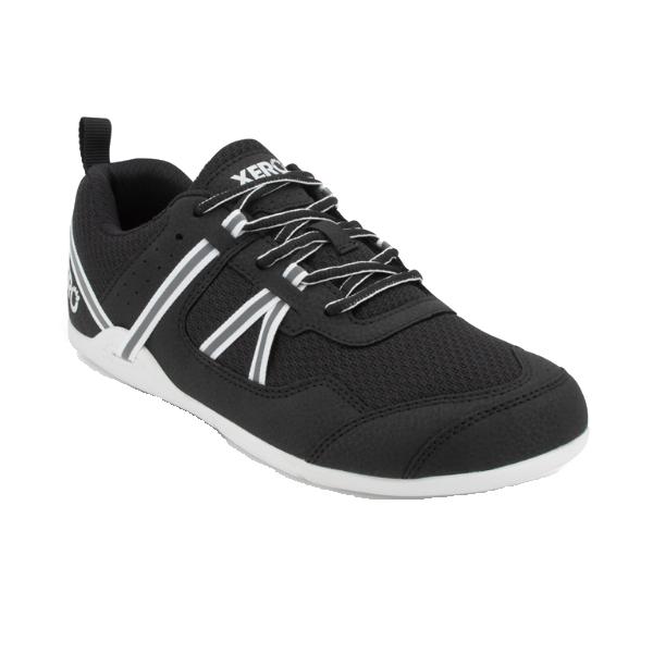 XEROSHOES(ゼロシューズ) プリオメンズ/ブラック/ホワイト/M8 PRM-BLWアウトドアギア アウトドアスポーツシューズ メンズ靴 ウォーキングシューズ ブラック 男性用 おうちキャンプ