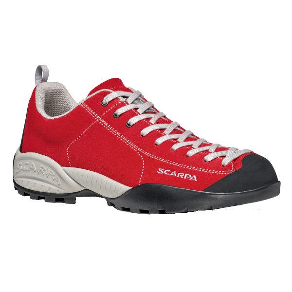 SCARPA(スカルパ) モジト/レッド/#39 SC21050レッド ブーツ 靴 トレッキング アウトドアスポーツシューズ トレイルランシューズ アウトドアギア