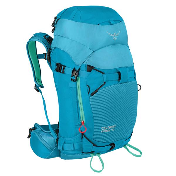 OSPREY(オスプレー) クレスタ 40/パウダーブルー/XS/S OS52104002003アウトドアギア トレッキング40 トレッキングパック バッグ バックパック リュック ブルー 女性用 おうちキャンプ