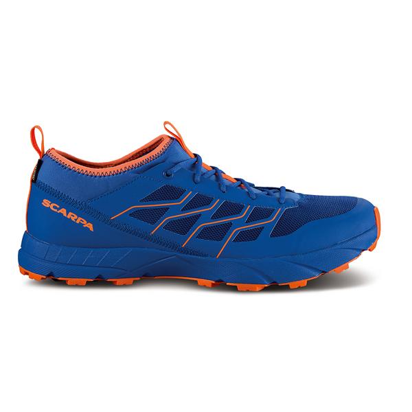 SCARPA(スカルパ) アトム SL GTX/ターキッシュシー/オレンジフロー/40.5 SC25030男性用 ブルー ブーツ 靴 トレッキング アウトドアスポーツシューズ トレイルランシューズ アウトドアギア