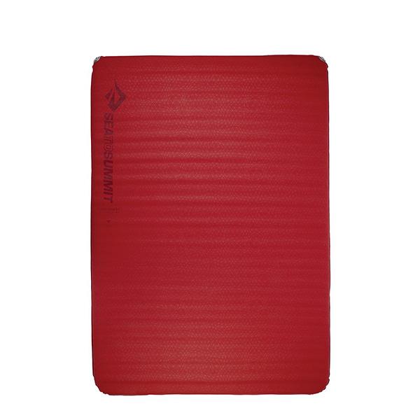 SEA TO SUMMIT(シートゥーサミット) コンフォートプラスS.I.マット/チリペッパー/ダブル ST81114301アウトドアギア 自動膨張マット アウトドア用寝具 レッド