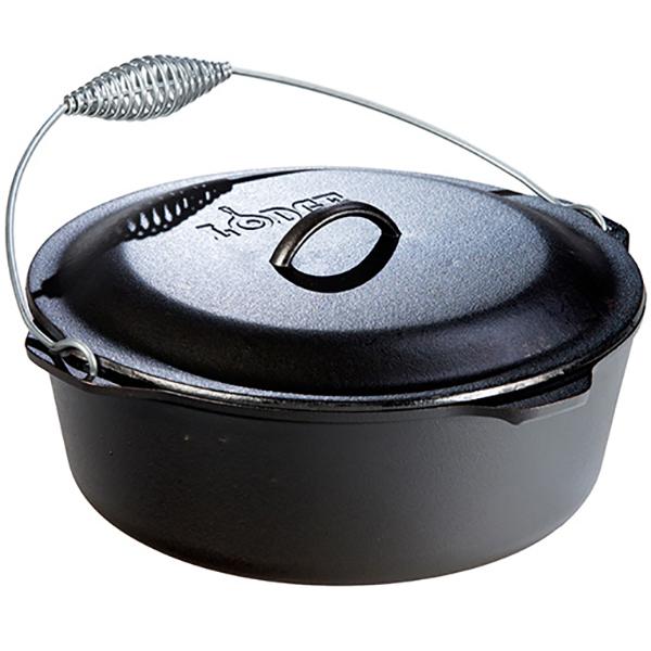 LODGE(ロッジ) [正規品]LDG ダッチオーブン 13 1/4 L12DO3 19240063ブラック ダッチオーブン クッキング用品 バーべキュー ダッチオーブン大型 アウトドアギア