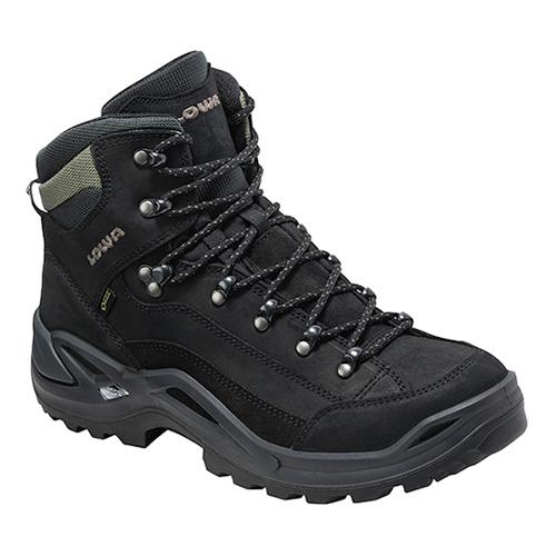 LOWA(ローバー) レネゲードGT MID/ブラック/7H L310945-9995-7Hアウトドアギア トレッキング用 トレッキングシューズ トレッキング 靴 ブーツ ブラック 男性用 おうちキャンプ