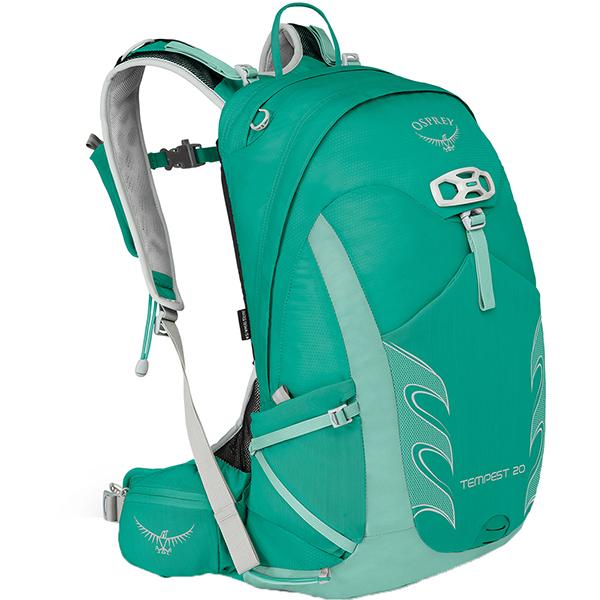 OSPREY(オスプレー) テンペスト 20/ルーセントグリーン/XS/S OS50263アウトドアギア トレッキング20 トレッキングパック バッグ バックパック リュック グリーン 女性用