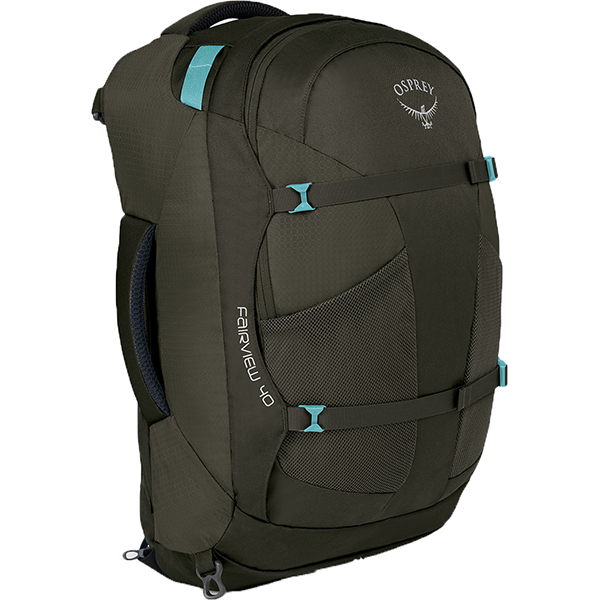 OSPREY(オスプレー) フェアビュー40/ミスティーグレー/ワンサイズ OS55152女性用 グレー リュック バックパック バッグ トレッキングパック トレッキング40 アウトドアギア
