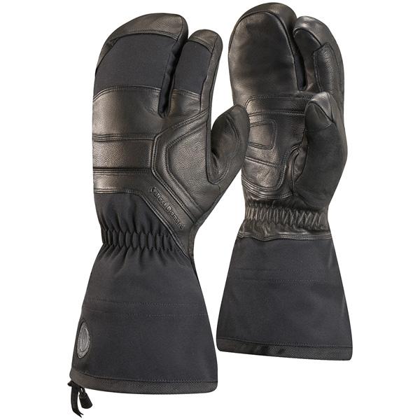Black Diamond(ブラックダイヤモンド) ガイド フィンガー/ブラック/S BD75060001004アウトドアウェア 冬用グローブ ウェアアクセサリー メンズウェア 手袋 ウインタータイプ(冬用) ブラック 男性用