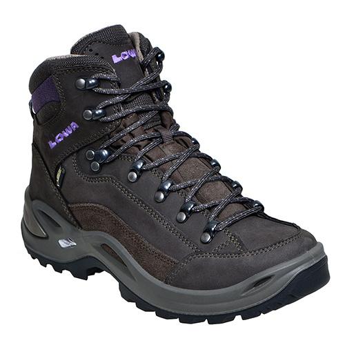 LOWA(ローバー) レネゲードGT MID Ws S5H L320945-9763-5H女性用 ブラウン ブーツ 靴 トレッキング トレッキングシューズ ハイキング用女性用 アウトドアギア