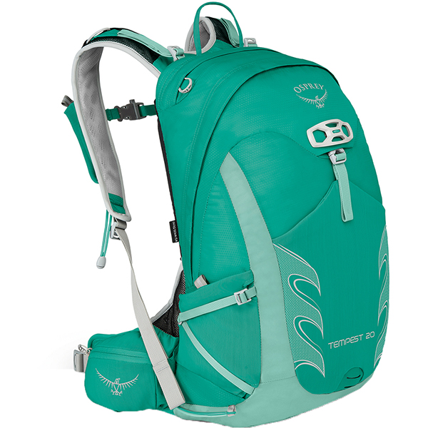 OSPREY(オスプレー) テンペスト 20/ルーセントグリーン/S/M OS50263アウトドアギア トレッキング20 トレッキングパック バッグ バックパック リュック グリーン 女性用
