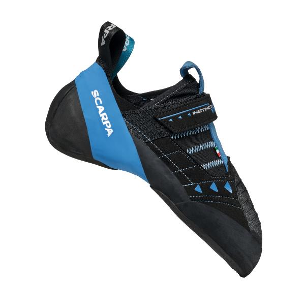 SCARPA(スカルパ) インスティンクトVS R/ブラック/アズール/#40.5 SC20198ブーツ 靴 トレッキング トレッキングシューズ クライミング用 アウトドアギア