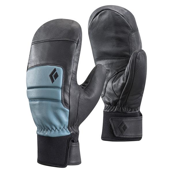 Black Diamond(ブラックダイヤモンド) ウィメンズスパークミット/カスピアン/M BD72108女性用 グレー 手袋 メンズウェア ウェア ウェアアクセサリー 冬用グローブ アウトドアウェア