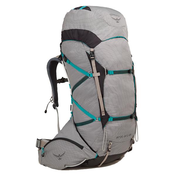 OSPREY(オスプレー) エーリエルプロ 65/ボイジャーグレー/M OS50058女性用 グレー リュック バックパック バッグ トレッキングパック トレッキング60 アウトドアギア