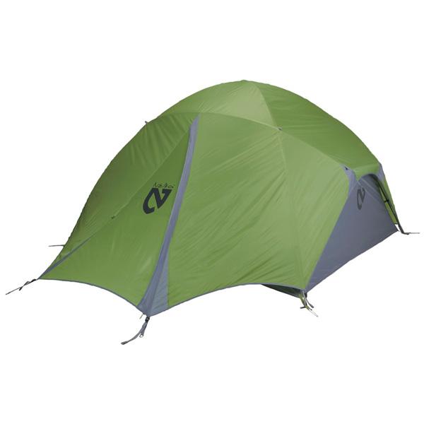 NEMO(ニーモ・イクイップメント) バンガローストーム 4P NM-BGLST-4Pグリーン 四人用(4人用) オールシーズンタイプ キャンプテント タープ テント キャンプ用テント キャンプ4 アウトドアギア