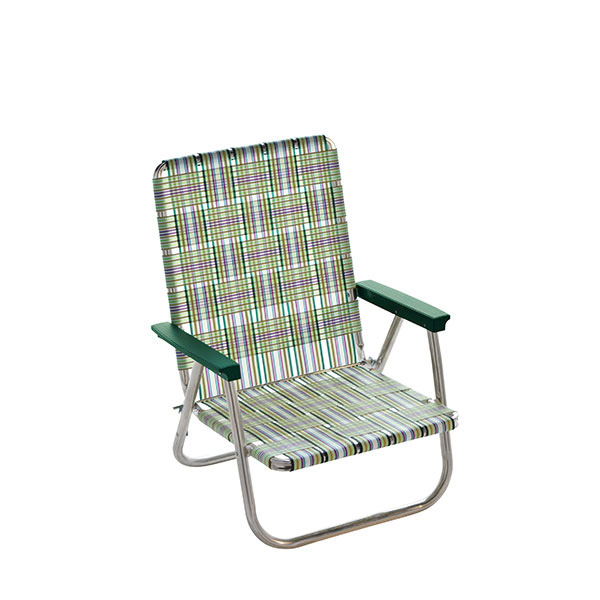 LAWN CHAIR(ローンチェア) ハイバックビーチチェア Spring Fling 62523イス レジャーシート テーブル チェア コンパクトチェア アウトドアギア