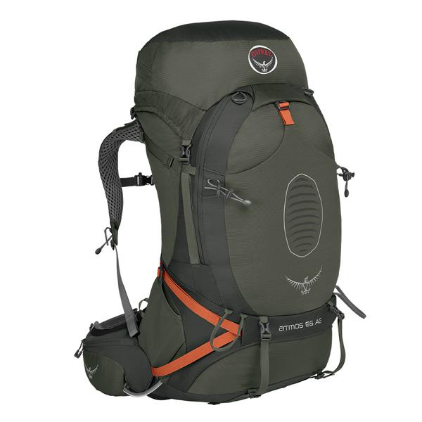 OSPREY(オスプレー) アトモスAG 65/グラファイトグレー/M OS50190グレー リュック バックパック バッグ トレッキングパック トレッキング70 アウトドアギア