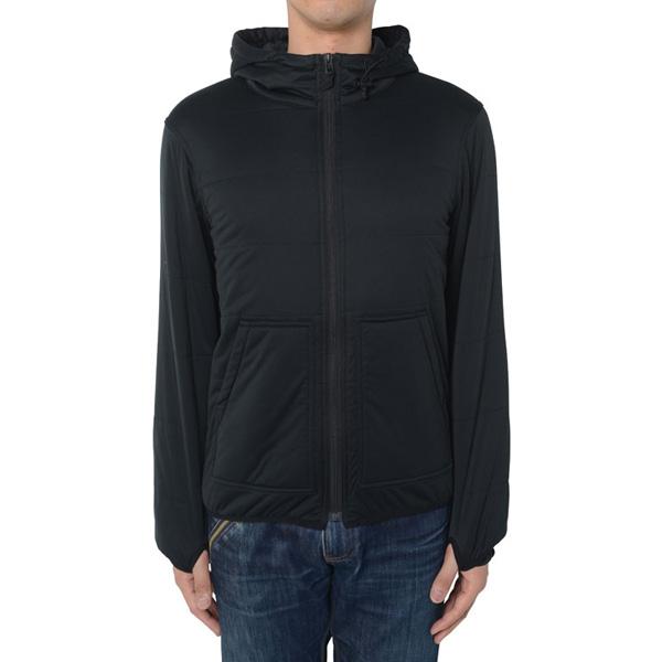 snow peak(スノーピーク) FlexibleinsulatedHoodie/Black/M SW-15AU001アウター メンズウェア ウェア ジャケット 中綿入り ジャケット 中綿入り男性用 アウトドアウェア