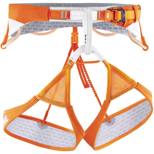 PETZL(ペツル) シッタ/L C10AOLアウトドアギア 指定なし 登山 トレッキング ハーネス オレンジ 男女兼用