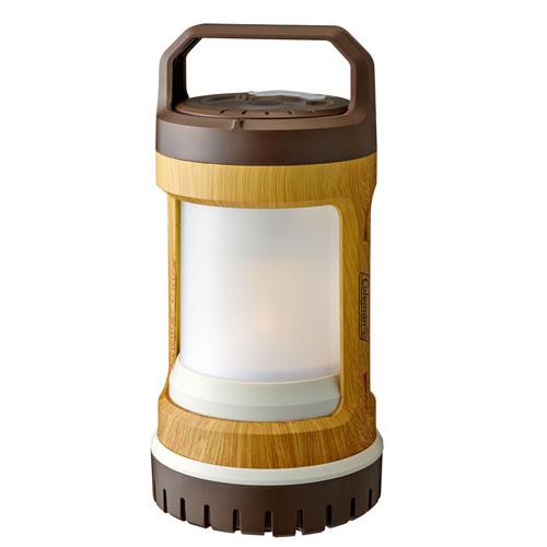 Coleman(コールマン) バッテリーロックUSBリチャージャブルランタン(ナチュラルウッド) 2000031277ランタン ランタン ライト ランタン電池 アウトドアギア