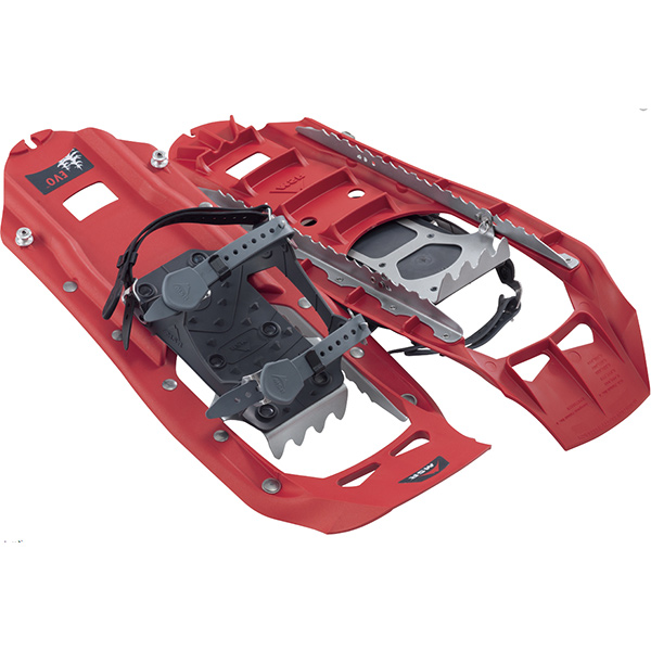 MSR(エムエスアール) EVO/レッド 40643レッド スノーシュー トレッキング 登山 アウトドアギア