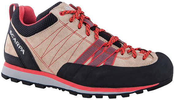 SCARPA(スカルパ) クラックス WMN/ベージュ/コーラル/#39 SC21040ブーツ 靴 トレッキング トレッキングシューズ ハイキング用 アウトドアギア