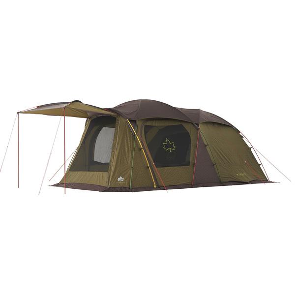 ★エントリーでポイント5倍!OUTDOOR LOGOS(ロゴス) プレミアム PANELストロングGドゥーブル XL-AH 71805522カモフラージュ 五人用(5人用) テント タープ キャンプ用テント キャンプ4 アウトドアギア