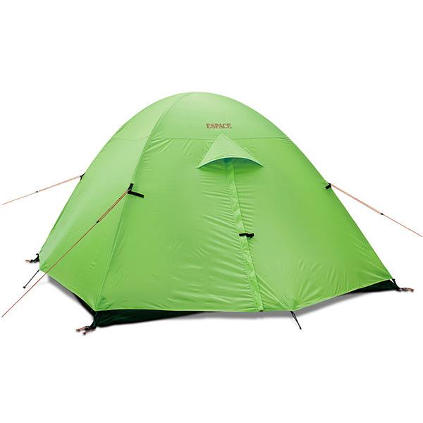 ESPACE(エスパース) スーパーライト 4-5人用(レインフライ付) SPLightグリーン 四人用(4人用) テント タープ 登山用テント 登山4 アウトドアギア