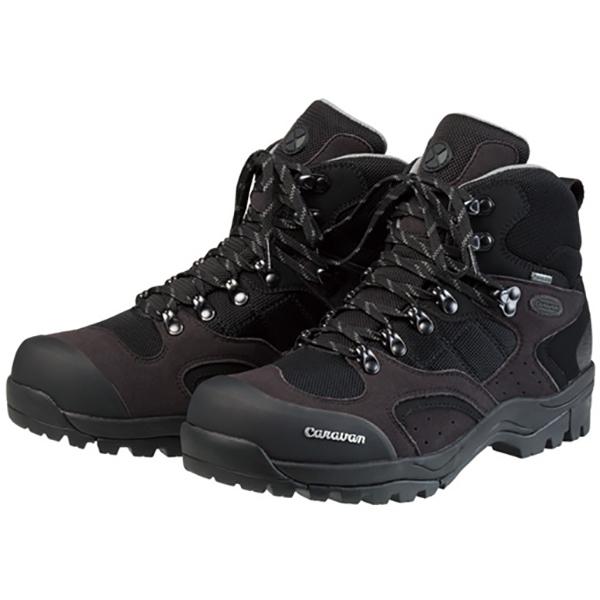 Caravan(キャラバン) 1_02S/941ブラック/シルバー/23.5cm 0010106アウトドアギア トレッキング用 トレッキングシューズ トレッキング 靴 ブーツ ブラック 男女兼用