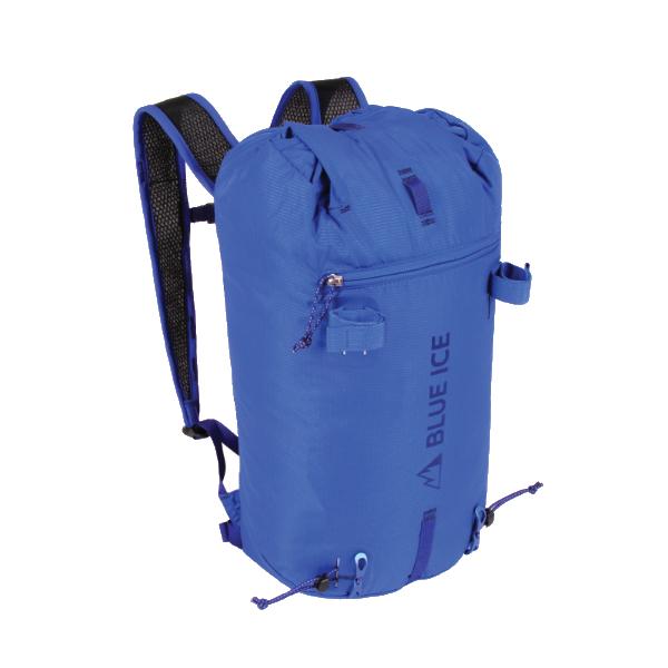 blue ice(ブルーアイス) ドラゴンフライII 18L/ターキッシュブルー 100014アウトドアギア トレッキング小型 トレッキングパック バッグ バックパック リュック ブルー