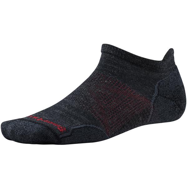SmartWool(スマートウール) PhDアウトドアライトマイクロ/チャコール/M SW71050男性用 グレー 靴下 メンズウェア ウェア ソックス ウール アウトドアウェア