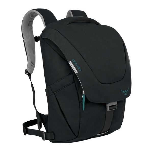 OSPREY(オスプレー) フラップジルパック/ブラック OS53030アウトドアギア アウトドア ショルダーバッグ ブラック 女性用