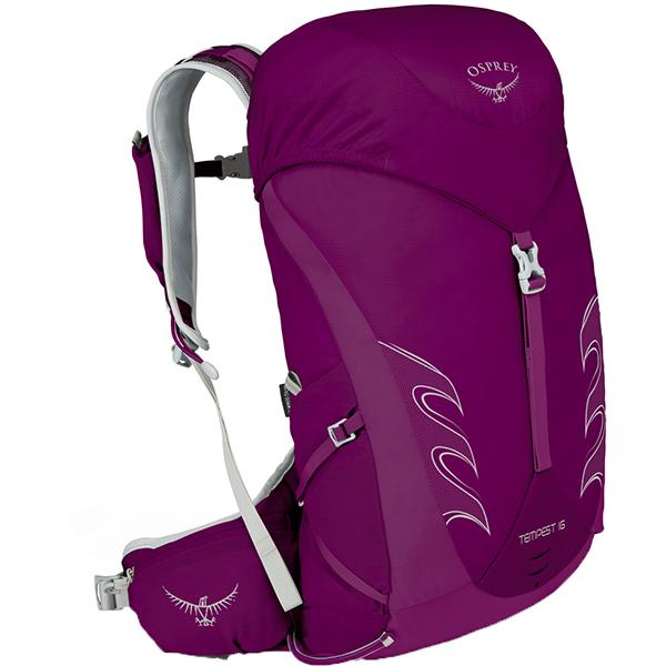 OSPREY(オスプレー) テンペスト 16/ミスティックマジェンタ/XS/S OS50264女性用 リュック バックパック バッグ トレッキングパック トレッキング小型 アウトドアギア