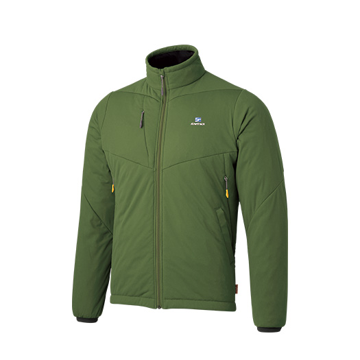 finetrack(ファイントラック) ドラウトポリゴン3ジャケット Ms SP FMM0903男性用 グリーン アウター メンズウェア ウェア ジャケット 中綿入り ジャケット 中綿入り男性用 アウトドアウェア